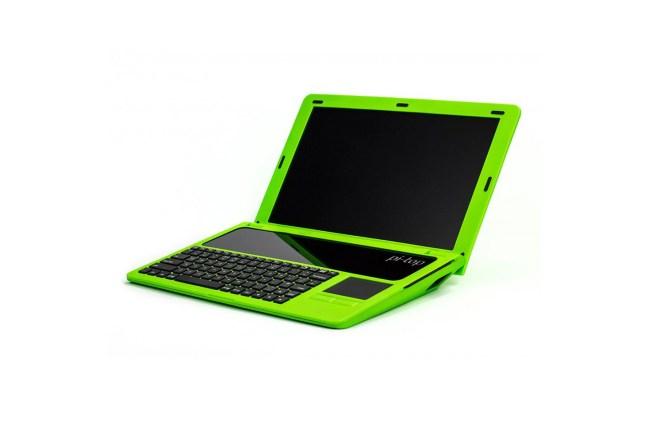 A product image for Pi-Top VK-toetsenbord en EU-voeding – groen