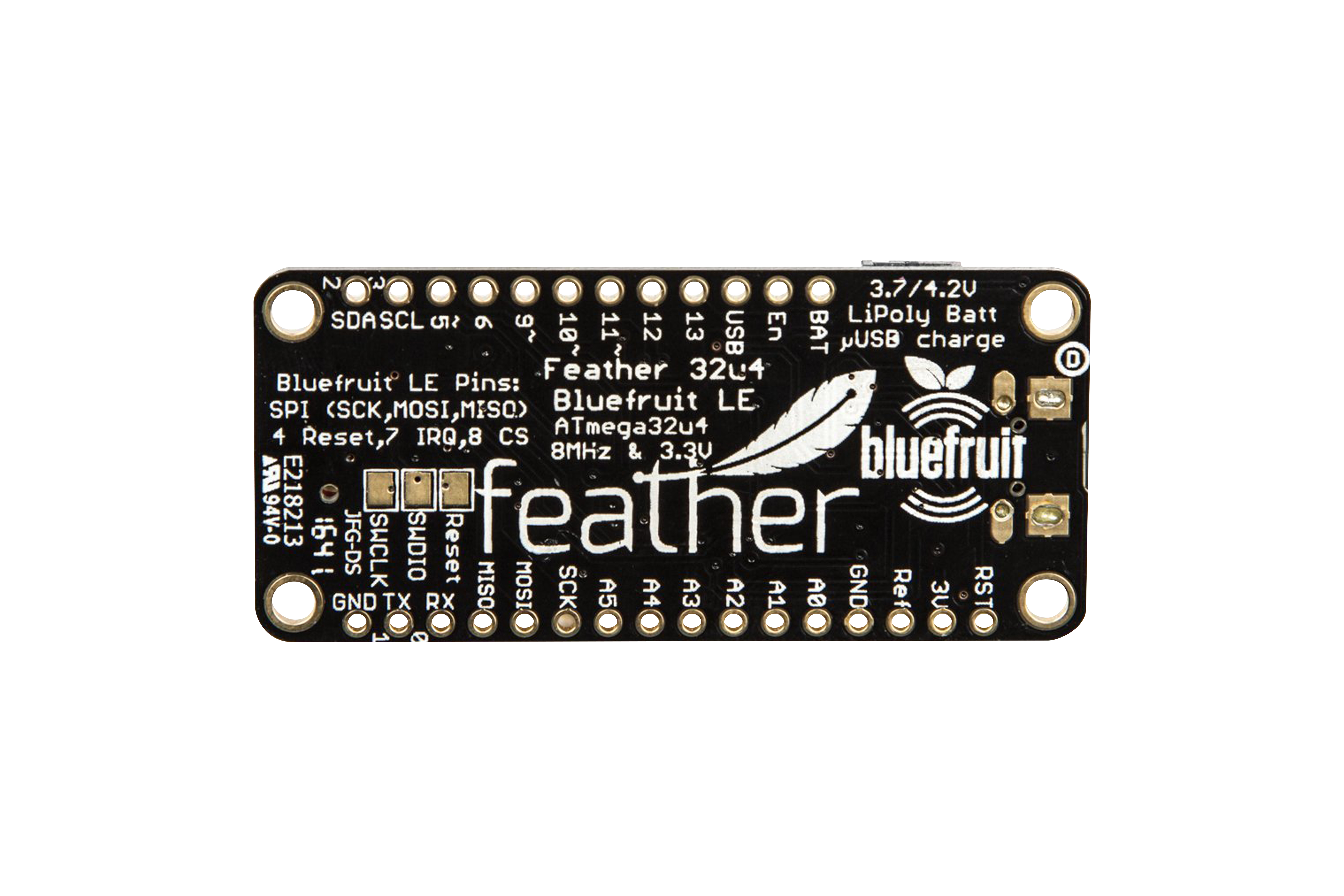 Adafruit Feather ATmega32u4 Bluefruit LE