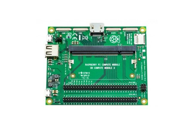 A product image for RaspberryPi 3 ComputeModule I/O