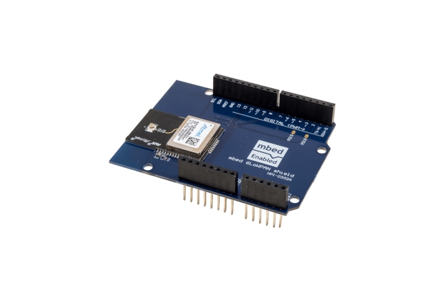 A product image for 6 LowPAN 2,4 GHz-Arduino Shield PCB-module