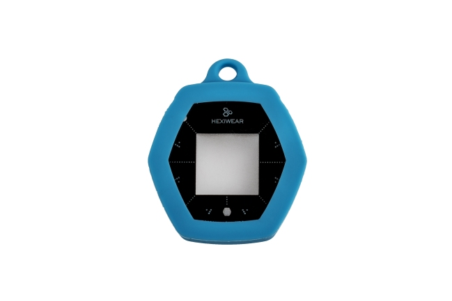 A product image for HEXIWEAR IOT DEV KIT ACCESSOIRESET BLAUW