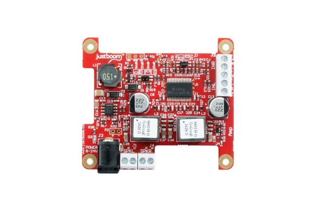 A product image for JustBoom Amp-uitbreidingskaart