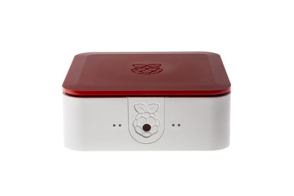 Quattro-behuizing met VESA - wit/rood