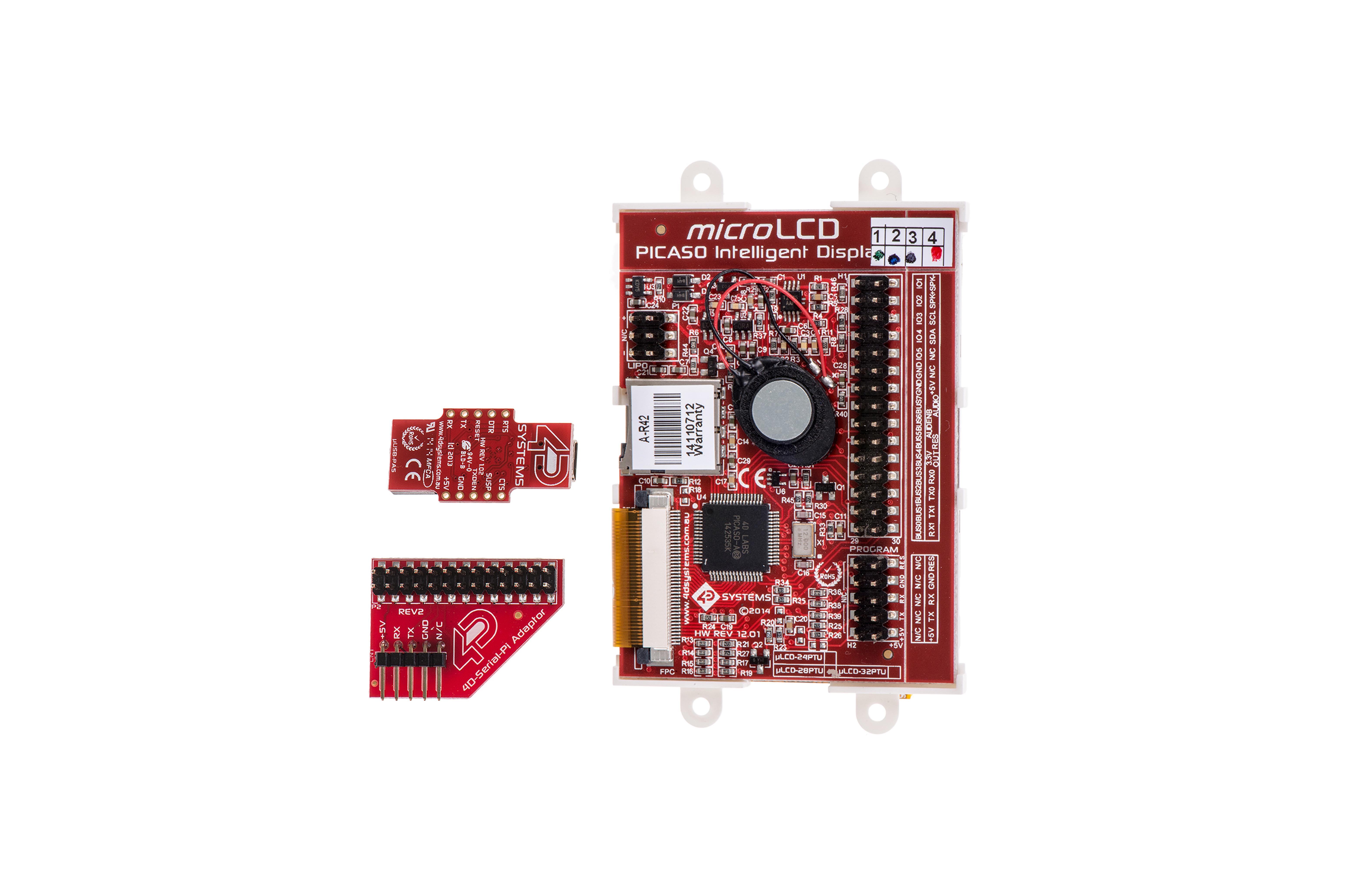 2,8-inch LCD-STARTPAKKETVOOR RASPBERRY PI