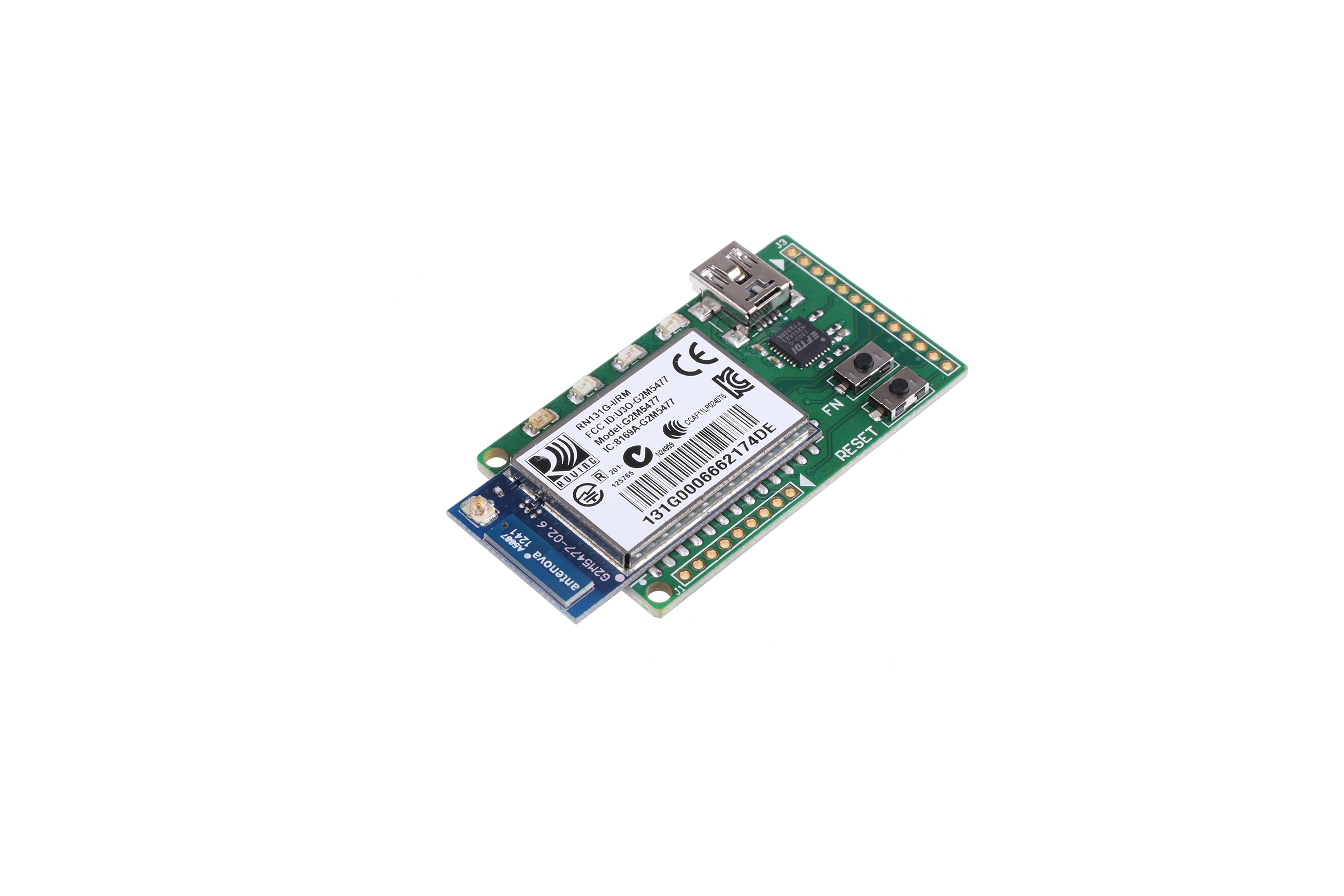 RN131 WI-FI MODULE USB-EVALUATIEKIT