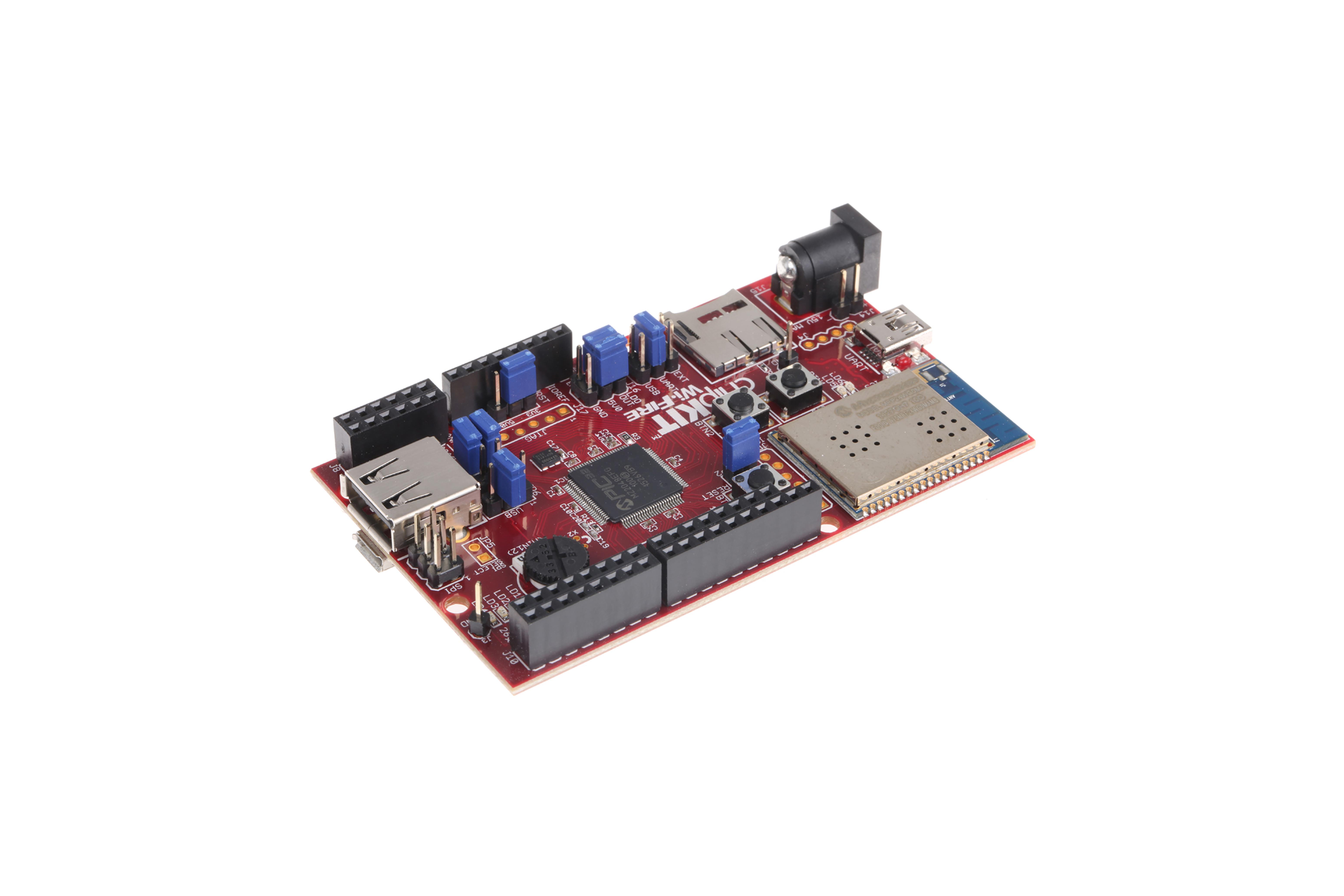 chipKIT WF32 wifi-ontwikkelingskaart