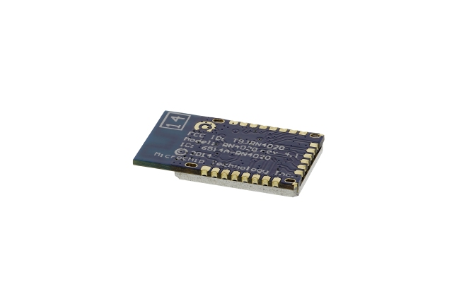 A product image for RN4020 Bluetooth 4.1 Low Energy-module