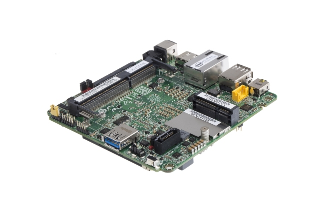 A product image for Intel Thin Canyon NUC Atom E3815 1,46 GHz