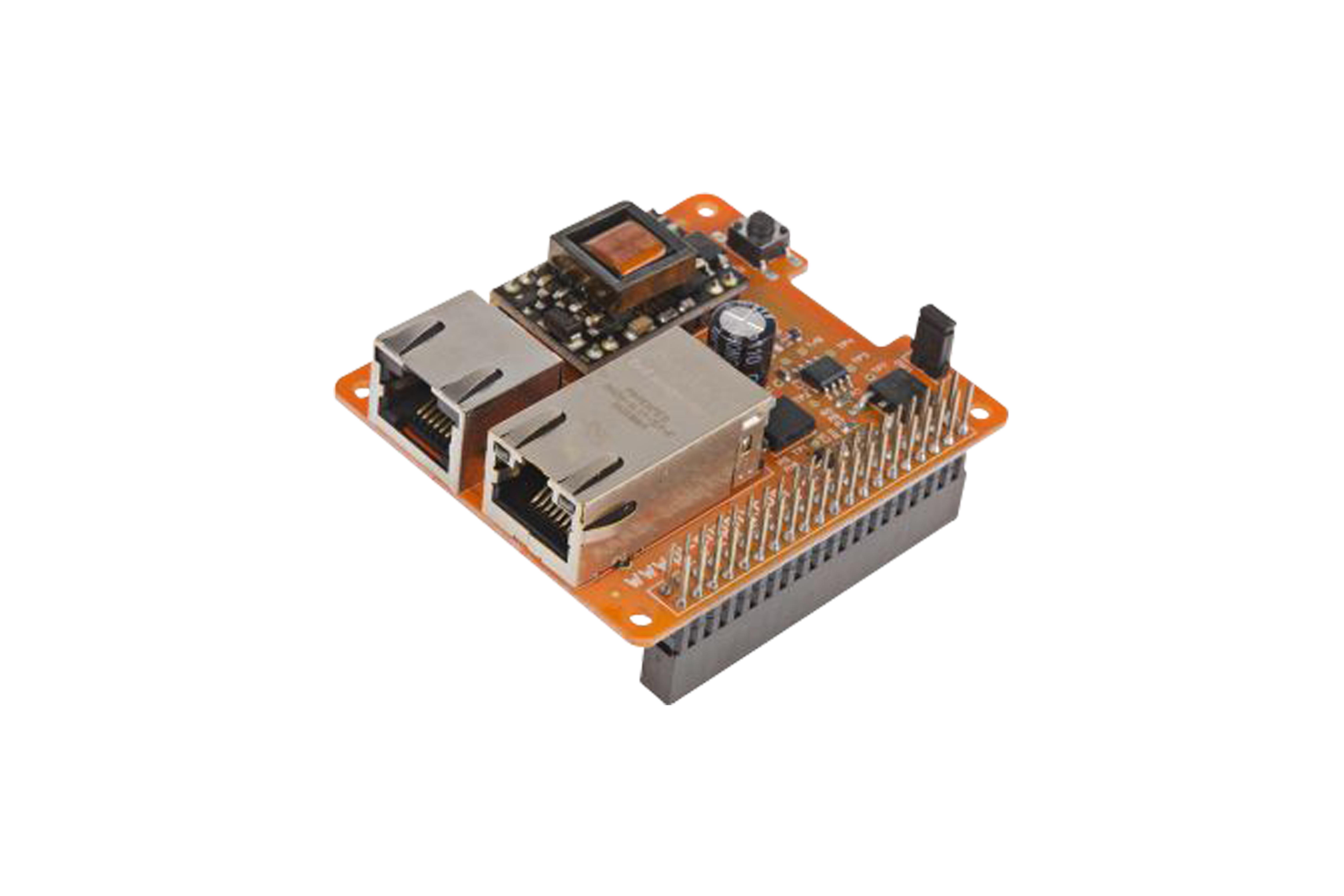 Power Over Ethernet voor Raspberry Pi