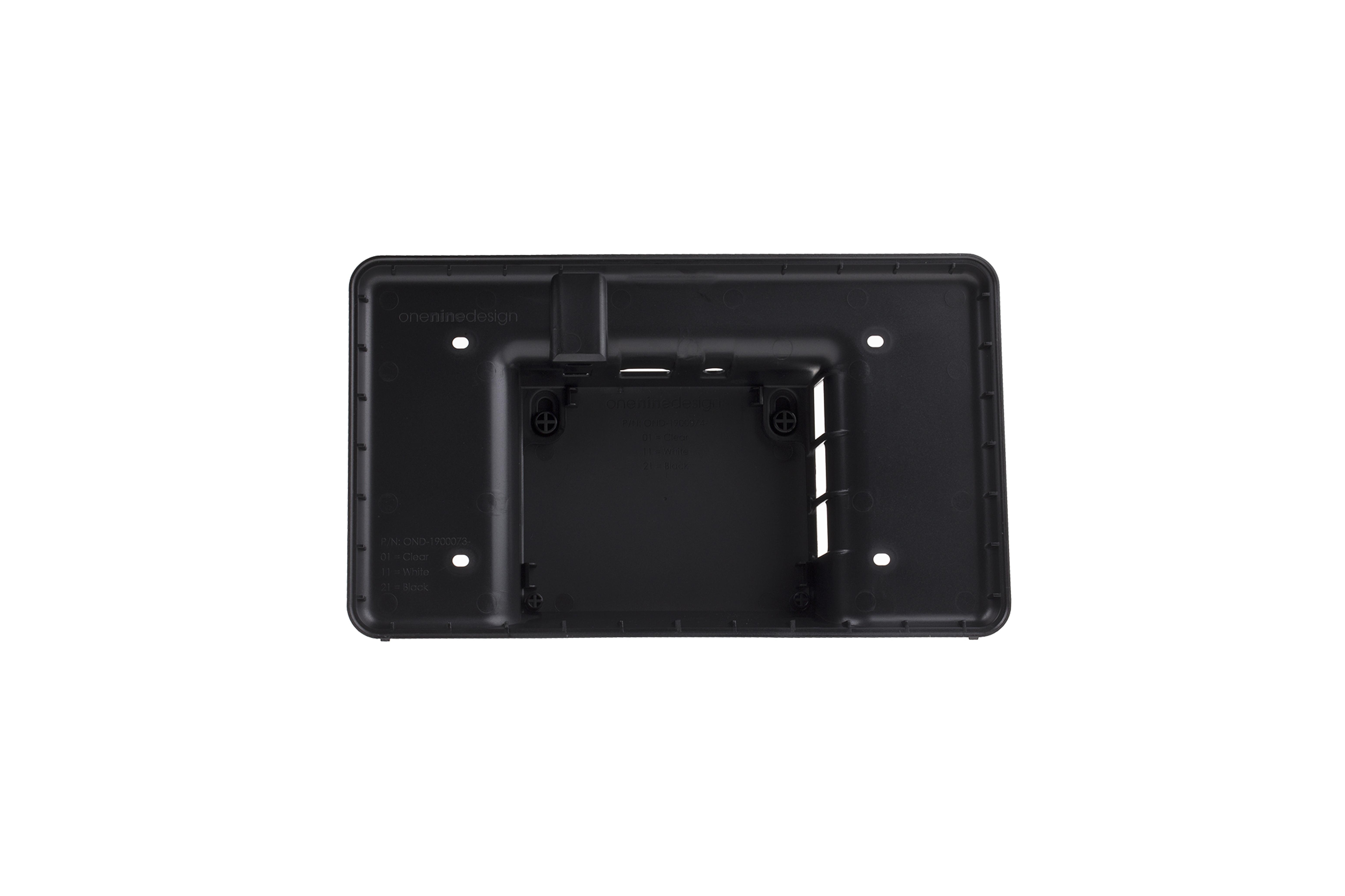 RaspberryPi touchscreen-behuizing - zwart