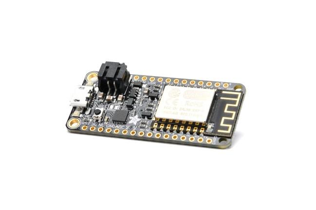 A product image for AdafruitFeatherHUZZA inclusief ESP8266 wifi