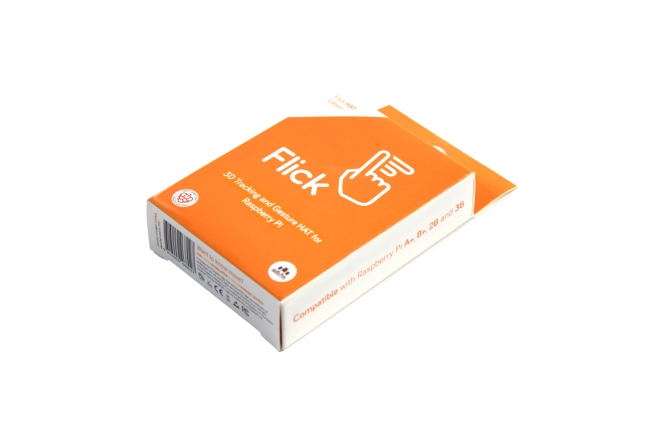 A product image for Flick Pi 3D-bewegingssensor HAT