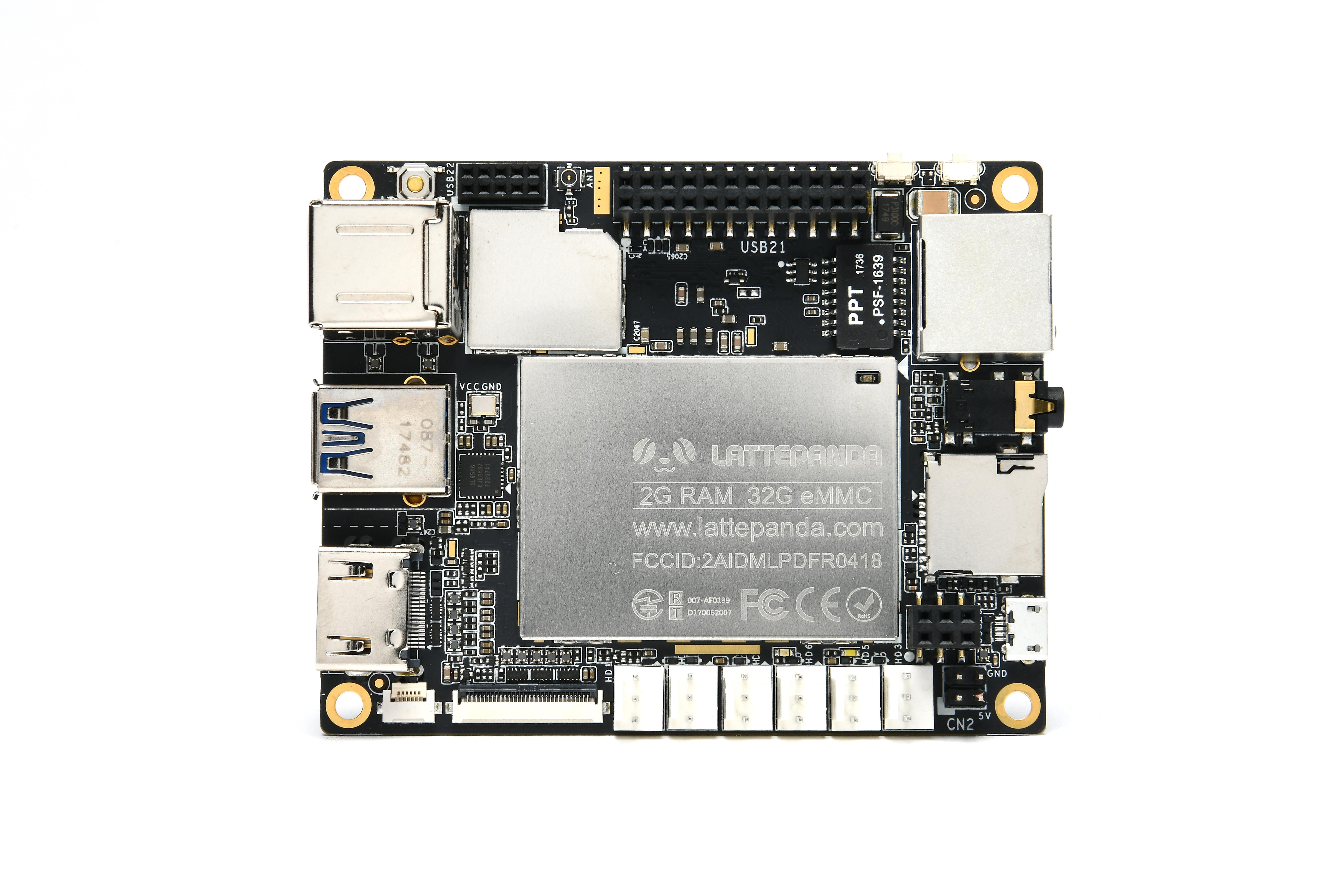 LattePanda 2 GB/32 GB-computer met licentie