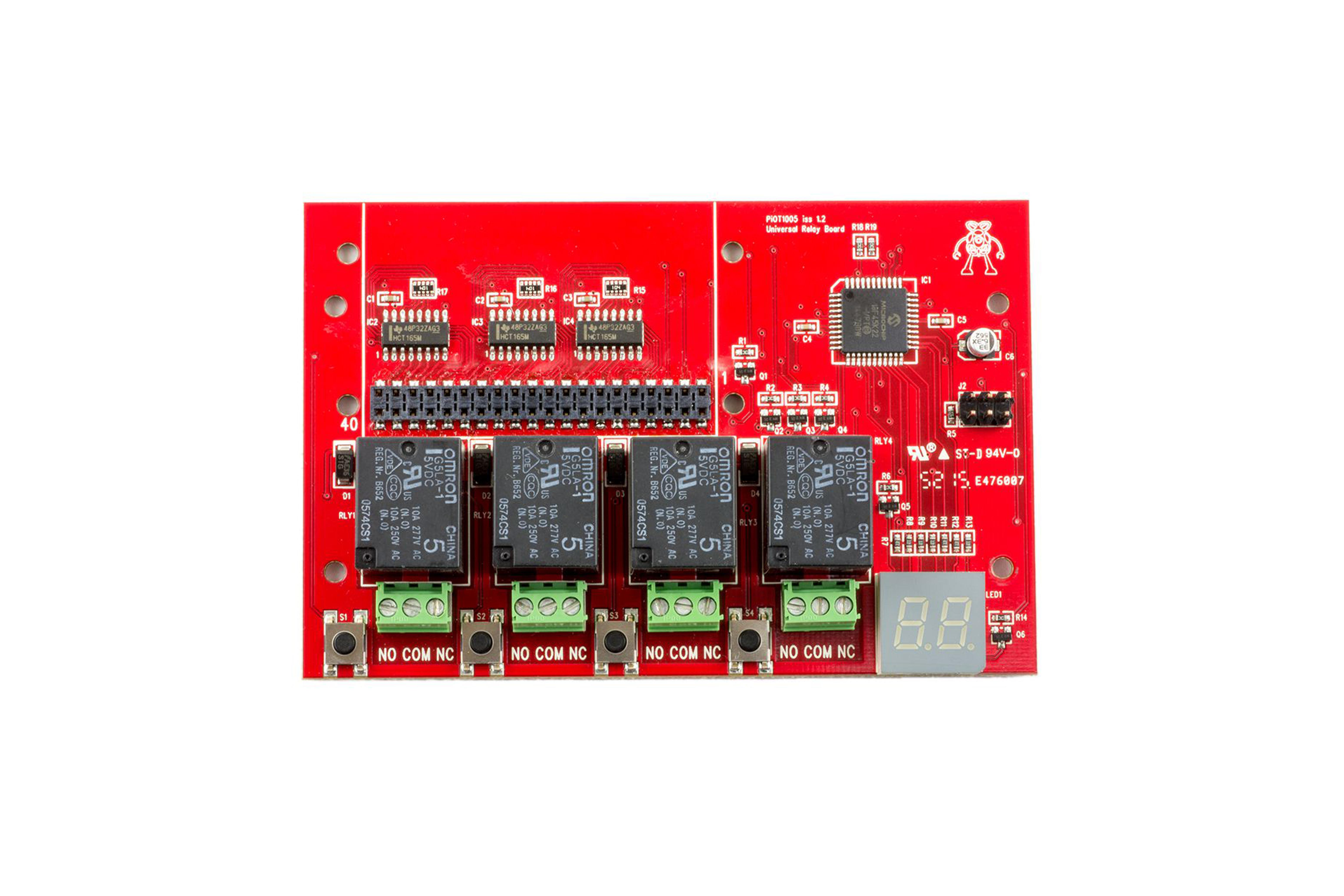 ModMyPi PiOT Raspberry Pi-relaiskaart