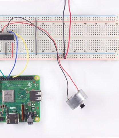 Using Raspberry Pi To Control A Motor Via GPIO