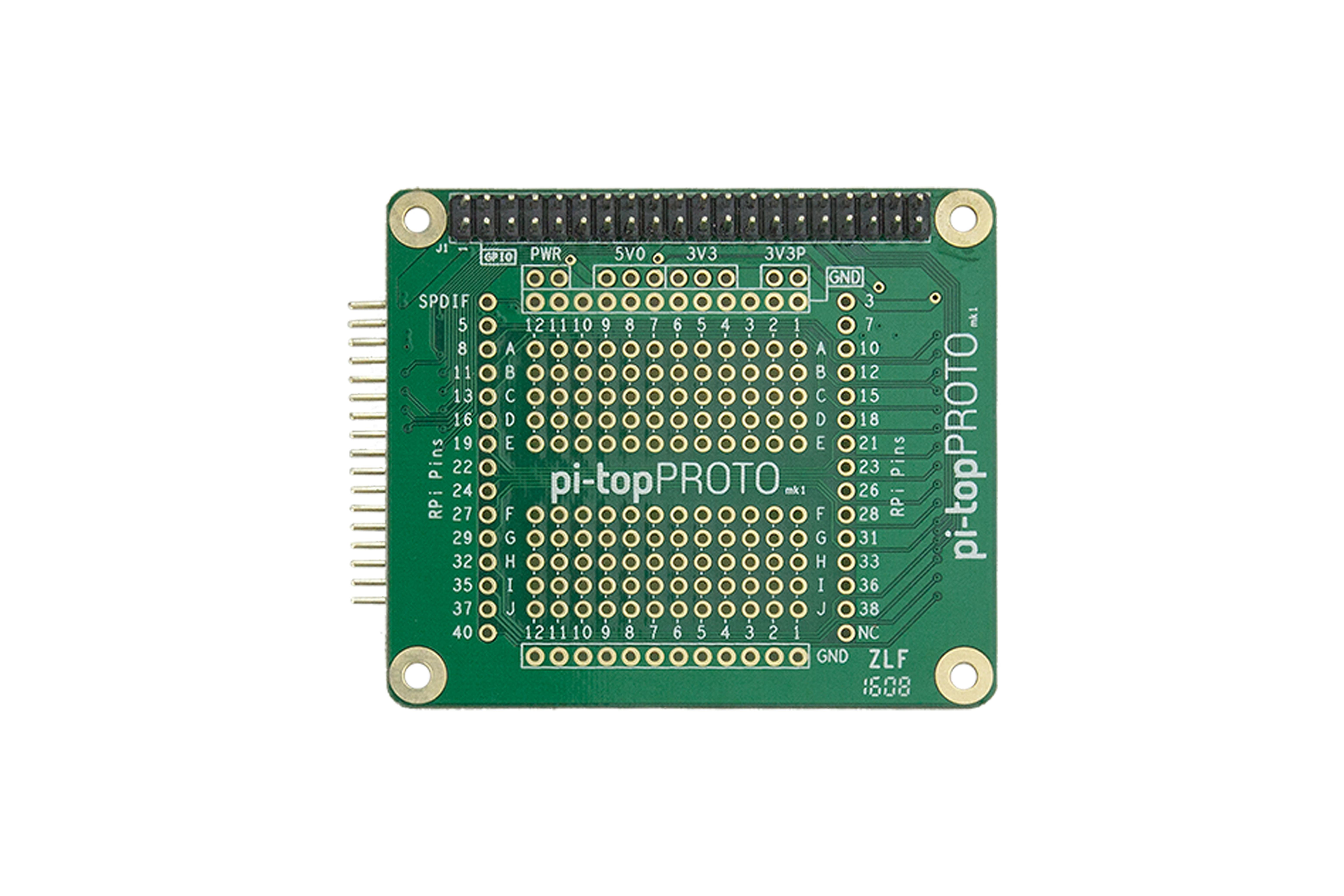 Prototypeontwikkelingskaart voor Pi-Top