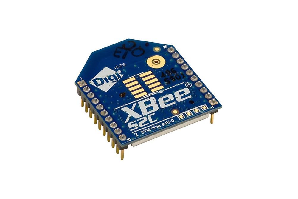 XBee ZigBee RF-module, PCB-antenne (TH)