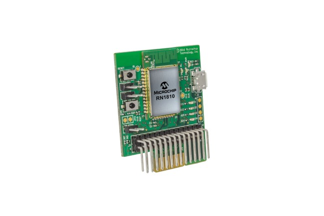 A product image for RN1810 wifi PICtail Plus-dochterbord