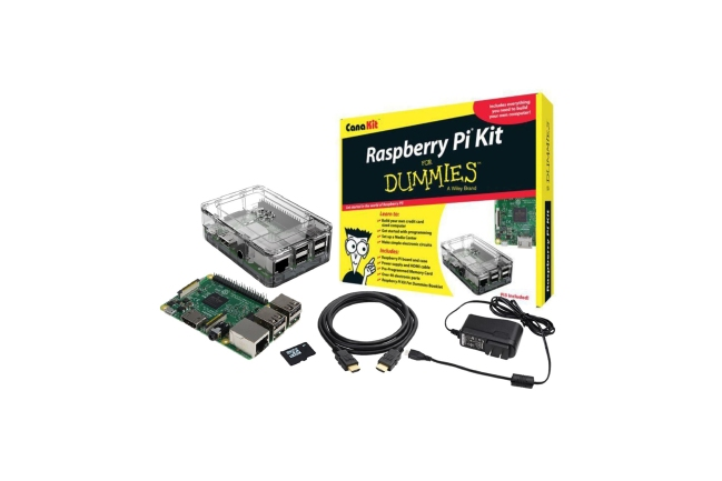 A product image for Raspberry Pi-set voor dummies