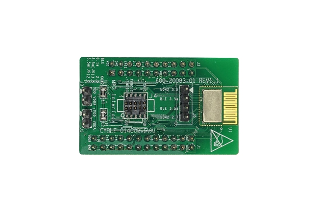 A product image for CYBLE-014008 BLE PSOC EVALUATIEKAART