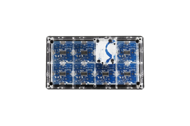 A product image for ADAFRUIT UNTZTRUMENT 16X8 BUTTON GRID