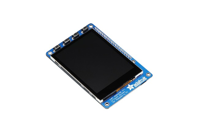 A product image for PITFT PLUS 2,8-INCH CAPACITIEF TOUCHSCREEN