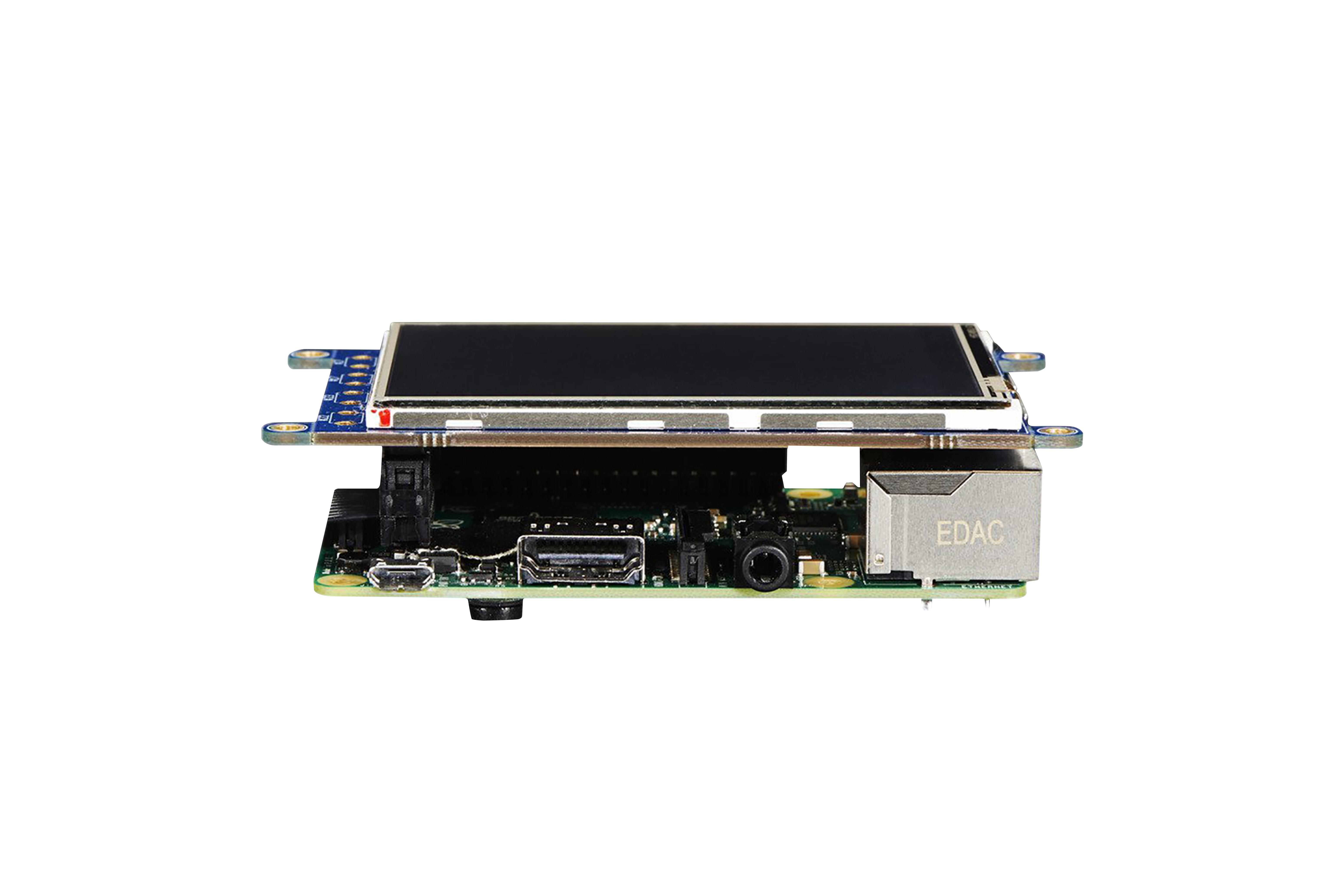 PiTFTPlus 3,2-inch lcd-touchscreen voor Pi