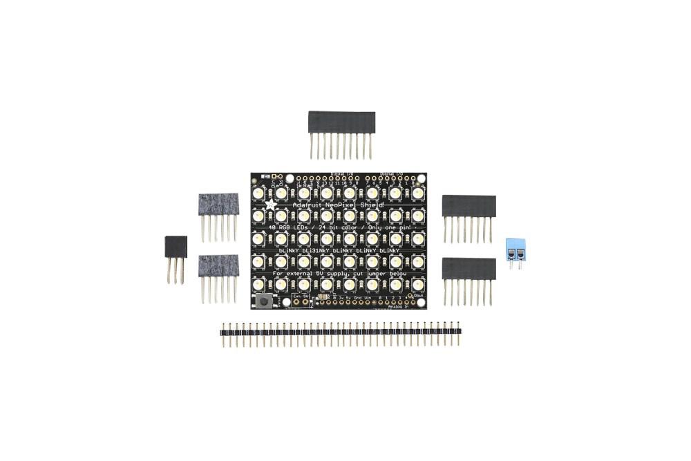 NEOPIXEL SHIELD 40 RGBW LED SHIELD 4500 K
