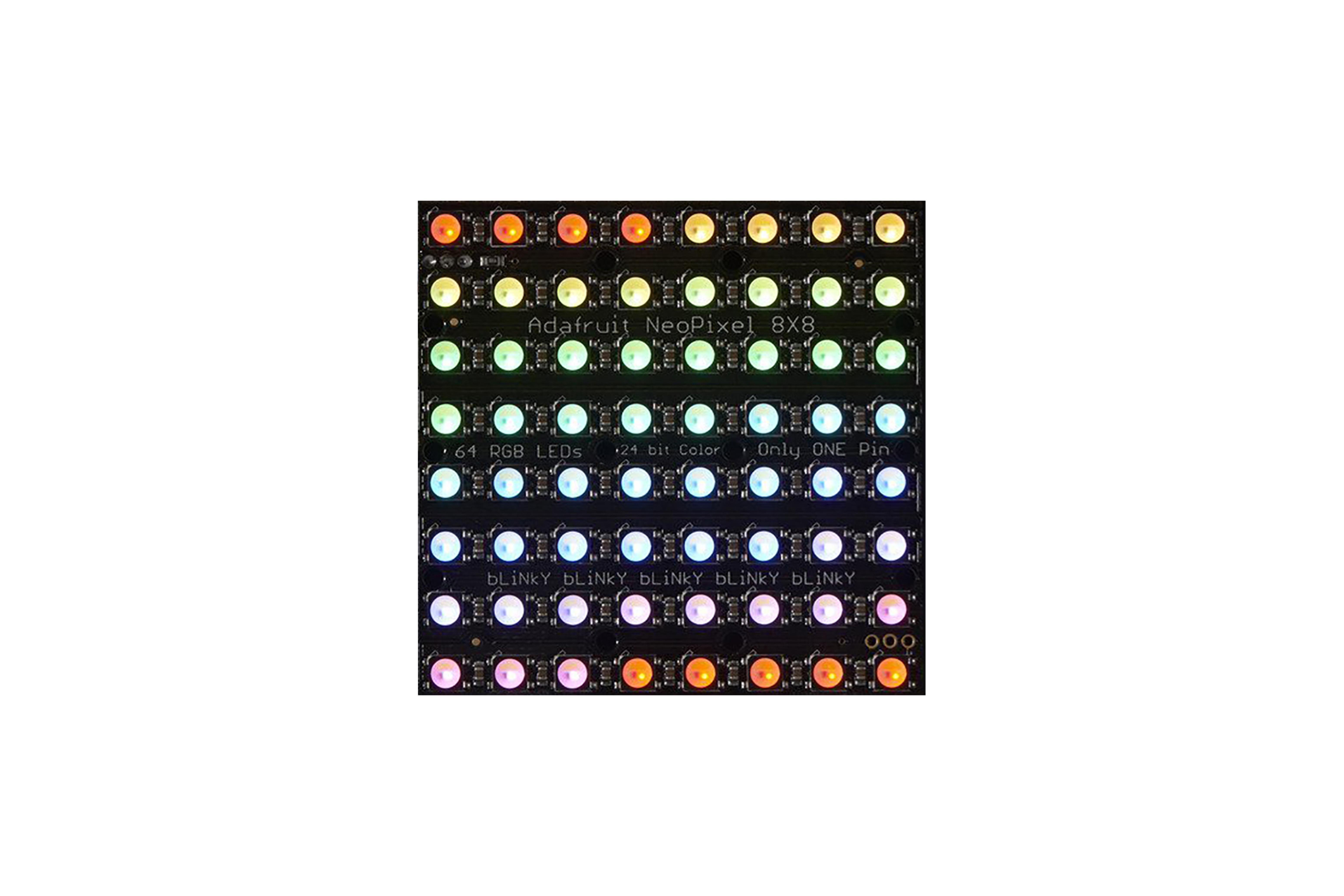 NEOPIXEL NEOMATRIX 64 RGBW LED 3000 K