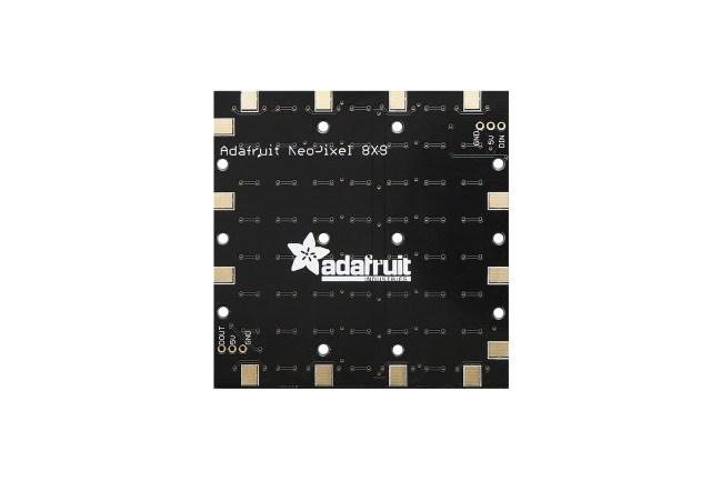 A product image for NEOPIXEL NEOMATRIX 64 RGBW LED 6000 K