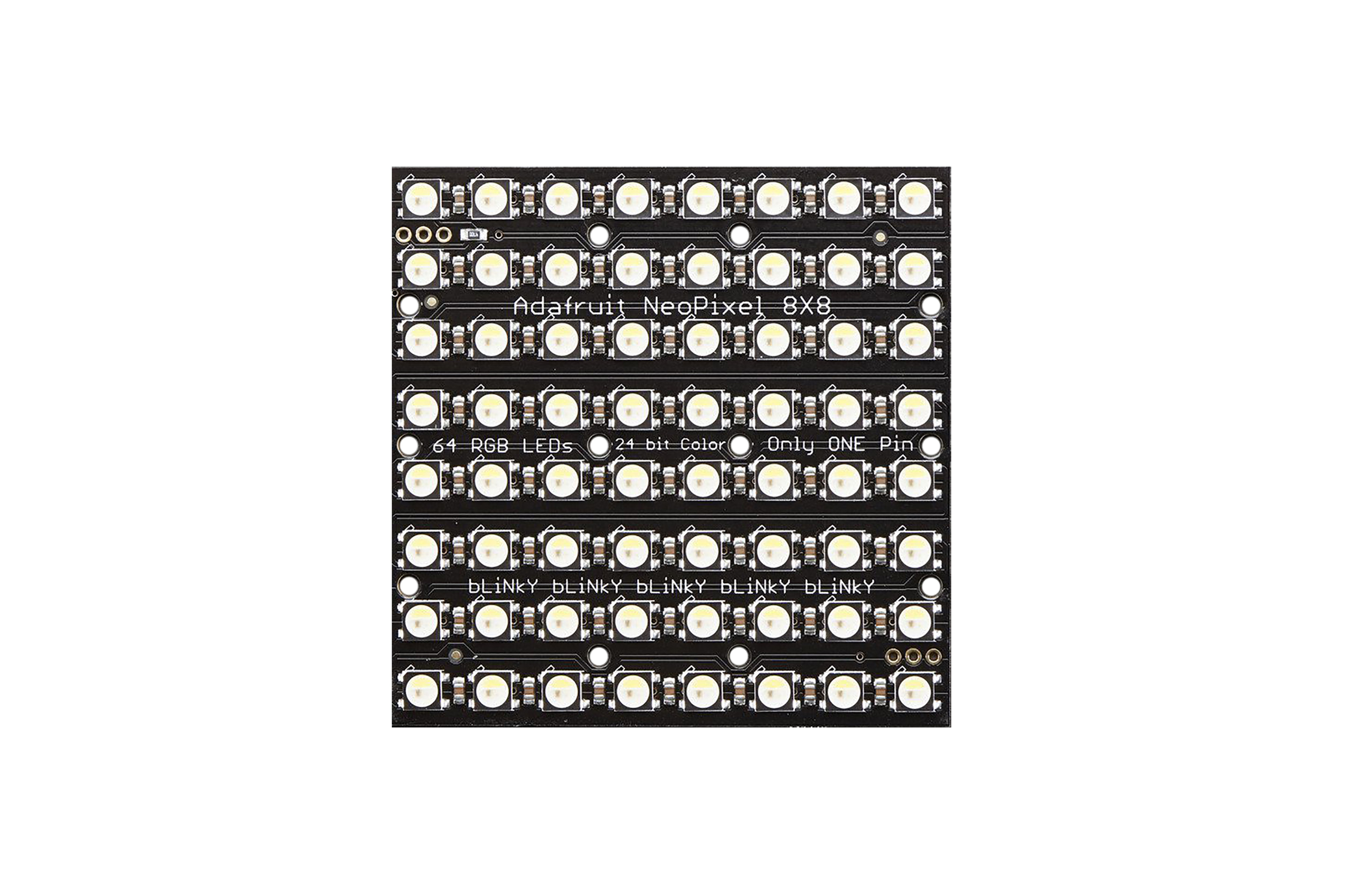 NEOPIXEL NEOMATRIX 64 RGBW LED 6000 K
