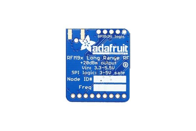 A product image for Adafruit LoRa-zendontvangerkaart 433 MHz