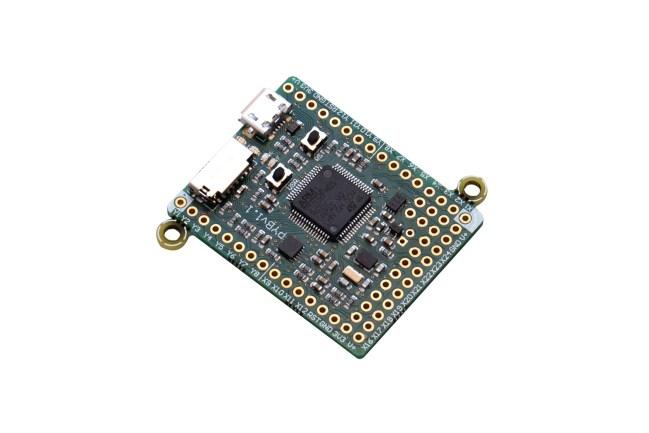 A product image for MicroPython Pyboard-ontwikkelingskaart V1.1