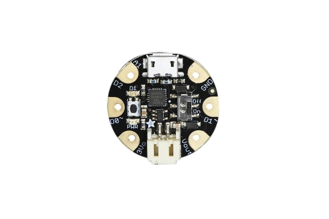 A product image for ADAFRUIT GEMMA MINI WEARABLE V2,1222