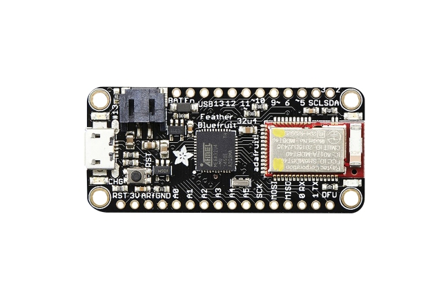 A product image for Adafruit Feather ATmega32u4 Bluefruit LE