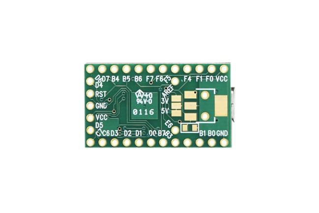 A product image for Teensy 2.0 – ATmega32u4 usb-uitbreidingskaart