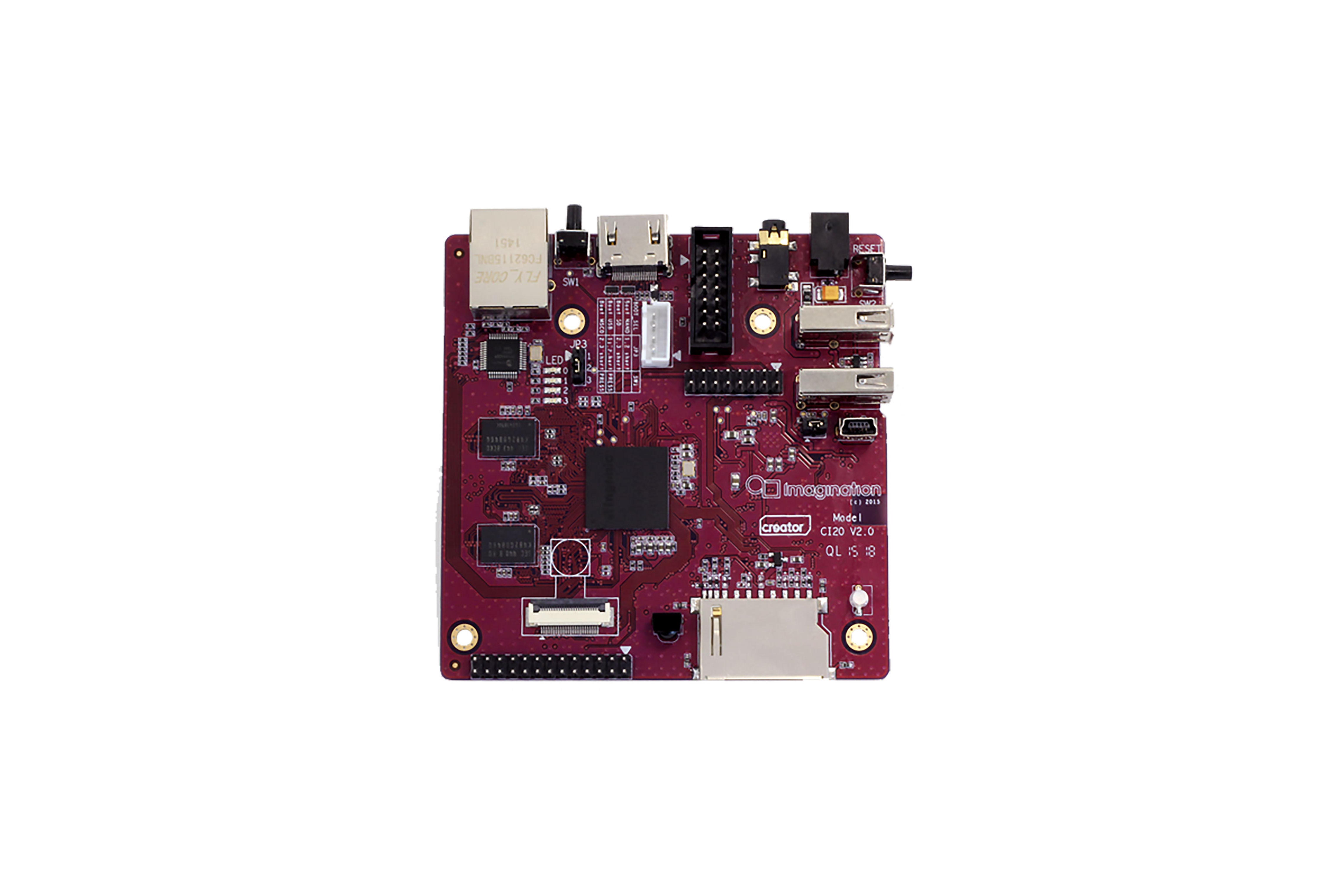 Creator Ci20 Linux/Android-moederbord