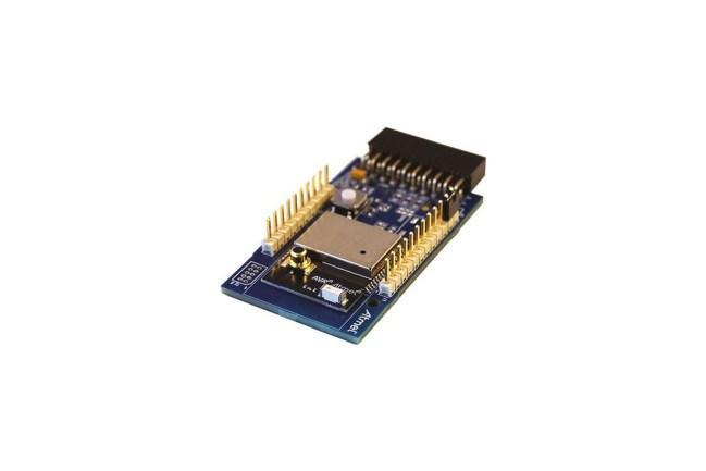 A product image for ATXMEGA256A3U AT86RF233 ZIGBIT-UITBREIDING