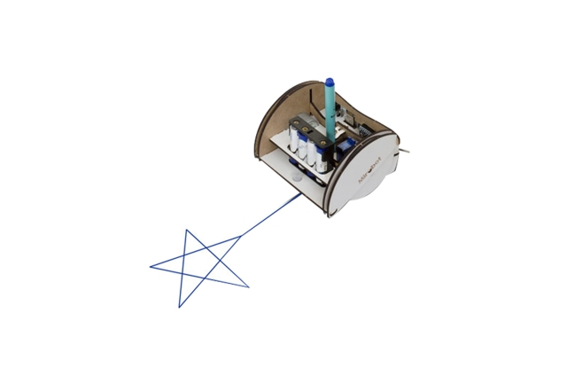 A product image for MIROBOT TEKENROBOT-KIT – VOLLEDIGE KIT