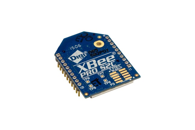 A product image for XBEE-PRO S2C 802.15.4, 2,4 GHz, TH
