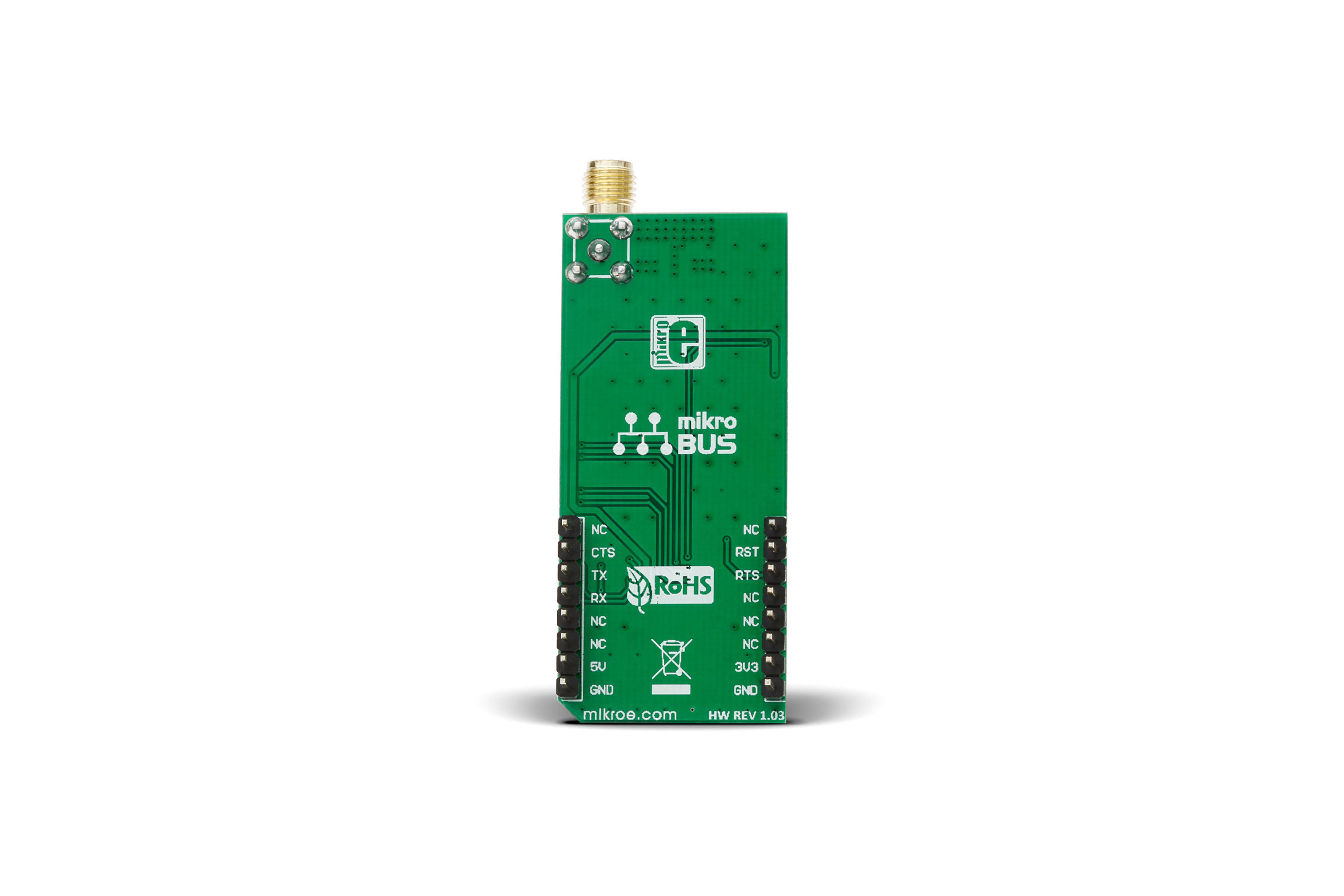 MikroElektronika LoRa 2 mikroBUS Click Board voor RN2903