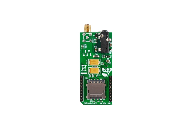 A product image for 3G SARA Click Board