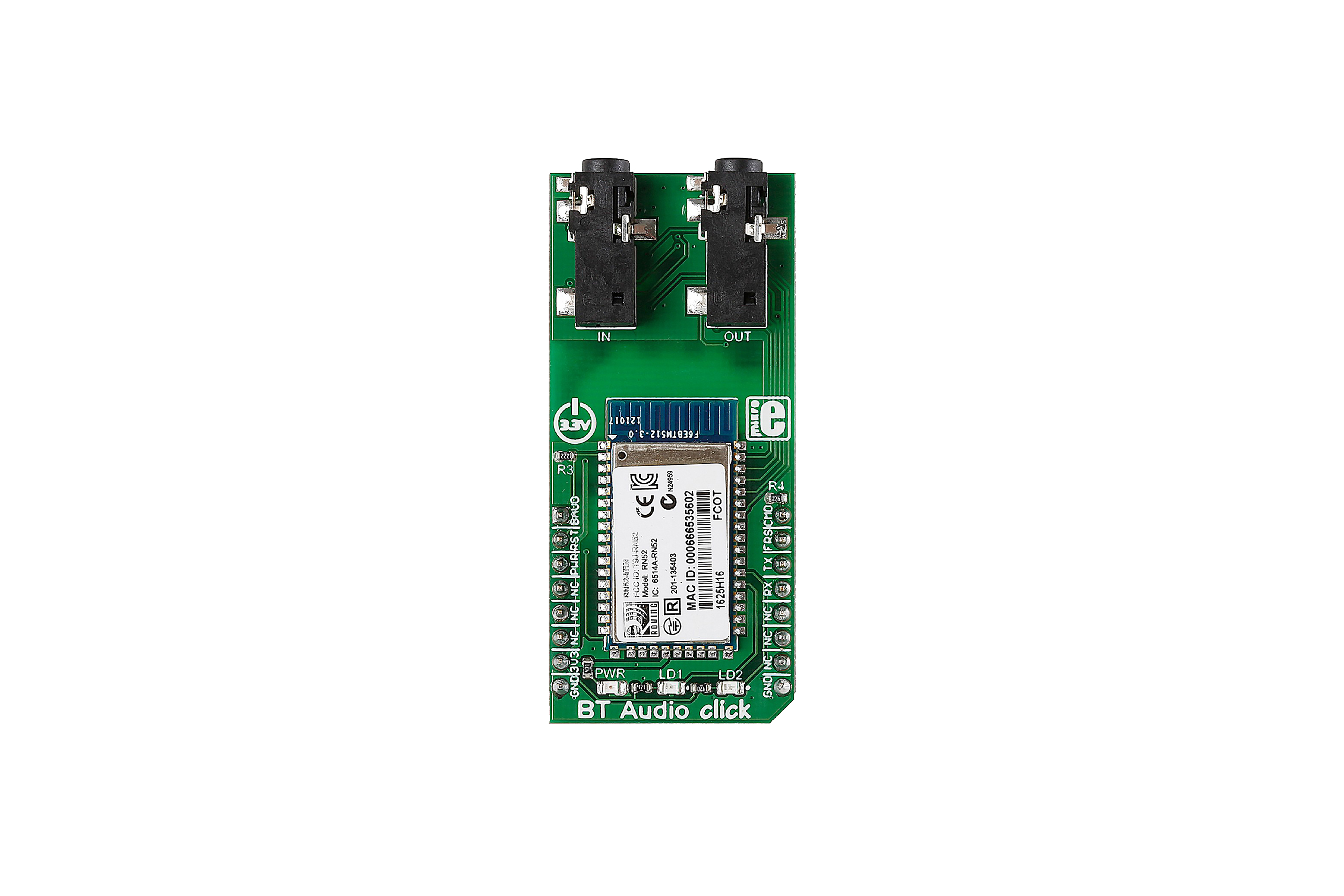 BT-audio Click Bluetooth Board