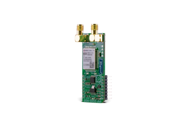A product image for MIKROE GSM/GNSS CLICK BOARD, MIKROE-2439