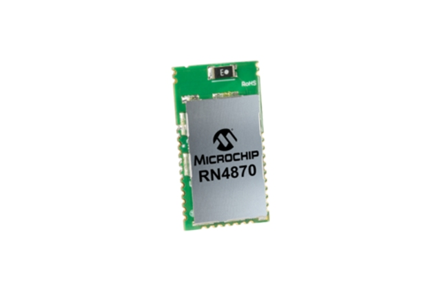 A product image for RN4870/RM128 BLUETOOTH 4.2 MODULE