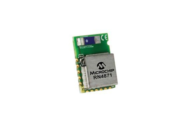 A product image for RN4871/RM128 BLUETOOTH 4.2 MODULE