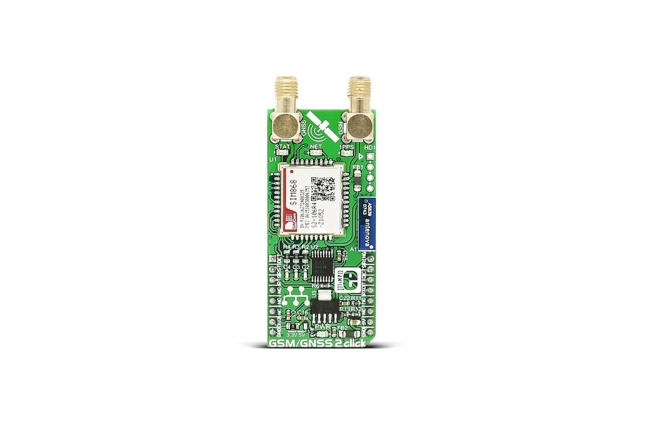 A product image for GSM/GNSS 2 CLICK BOARD, MIKROE-2440