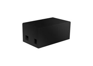 Arduino Uno Ethernet Shield-behuizing - zwart