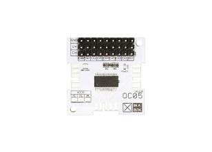 XinaBox OC05-servomodule voor bewegings- en positiecontrole