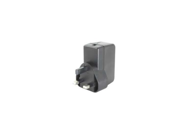 A product image for UK FIXED HEAD-VOEDING5,1 V 2,5 A ZWART